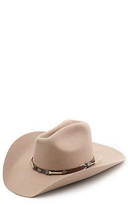 Justin Bent Rail Alpine Stone Gus Cowboy Hat
