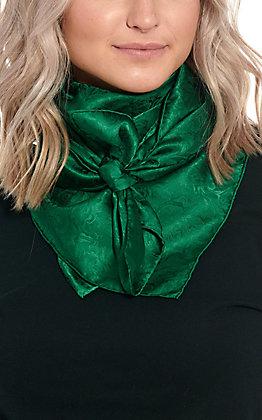 Forest Green Silk Wild Rags Scarf