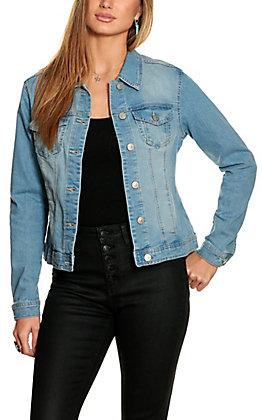 Women's Light Stonewashed Denim Jacket