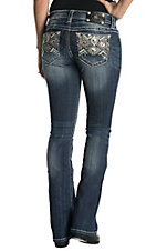 Miss Me Women's Tribal Signature Boot Jeans