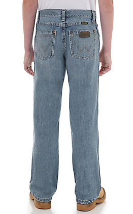 Wrangler Retro Boys' Ocean Water Boot Cut Jeans Sizes: 1-7