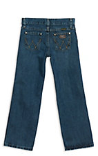 Wrangler Retro Everyday Blue Straight Leg Boys Jean Sizes: 1-7