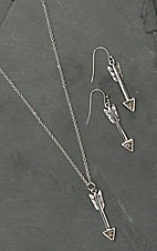 Montana Silversmiths Arrow Drop Jewelry Set