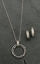 Montana Silversmiths Roped in Brilliance Jewelry Set