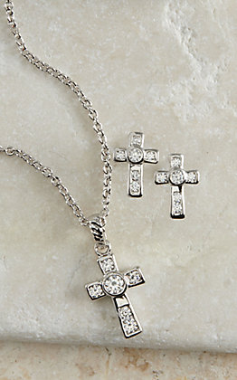 Montana Silversmiths A Mark of Faith Cross Jewelry Set