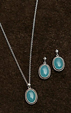Montana Silver Smith Misty Blue Pool Jewelry Set