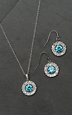 Montana Silversmiths Hot Summer Days Halo Jewelry Set