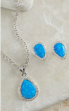 Montana Silversmiths River Lights Perfect Drops Jewelry Set
