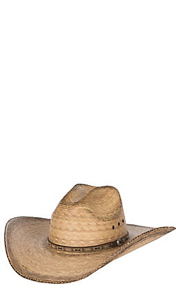 Justin Bent Rail Trail Toasted Palm Cowboy Hat