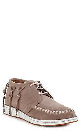 Justin Teepee Women's Grey Suede Casual Shoes
