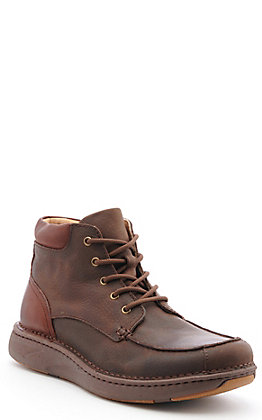 "Justin Men's Dark Brown Opanka 6"" Easy Rider Lace Up Casual Shoes"