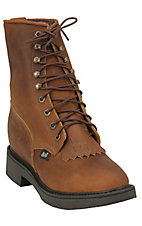 Justin Mens Original Lace-up Workboots - Aged Bark