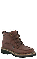 Justin Men's Rustic Cowhide Dark Brown Sport Chukka Boots