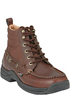 Justin Men's Latigo Dark Brown Chukka Boots