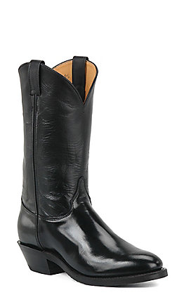 Justin Men's Black Pilot Uniform Western Boots