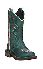 Justin Gypsy Collection Women's Teal Round Toe Boots