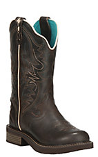 Justin Gypsy Collection Women's Chocolate Round Toe Boots