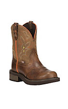 Justin Gypsy Collection Women's Tan Round Toe Boots