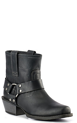 Justin Women's Gypsy Collection Black Harness Boots