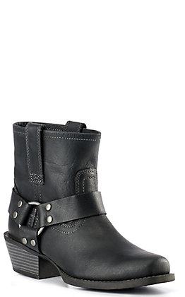 Justin Gypsy Women's Black Harness Boots