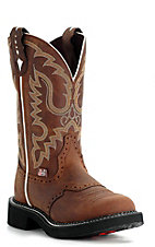 Justin Ladies Gypsy Collection Boots - Distressed Brown