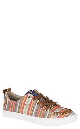 Reba by Justin Women's Multicolored Reba Serape Print Casual Shoes