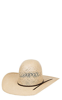 Rodeo King 25X Jute Straw Cowboy Hat