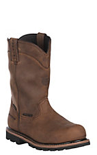 Justin Men's Wyoming Met Guard Slip-On Round Toe Workboots