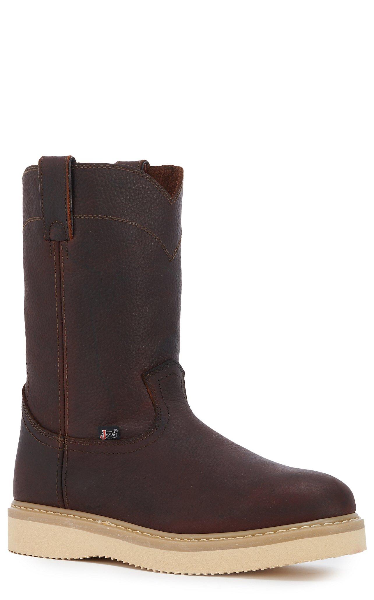 Slip On Work Boots