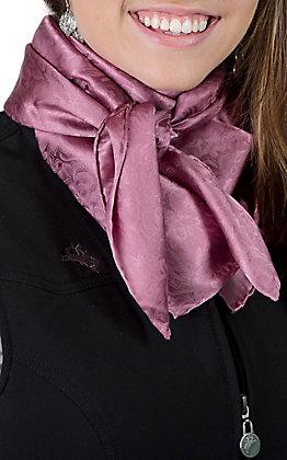 Jacquard Wine Silk Wild Rags Scarf