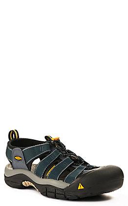 Keen Men's Newport H2 Navy and Grey All Terrain Hiker Shoe
