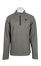 Cinch Men's Grey 1/4 Zip Fleece Cavender's Exclusive Pullover