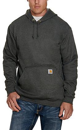 Carhartt Men's Carbon Heather Mid-Weight Hoodie Jacket