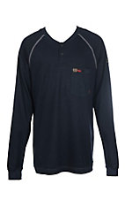 Cinch Men's Flame Resistant CAT 2 7oz. Navy Henley