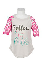 Southern Grace Girls Follow His Path T-Shirt