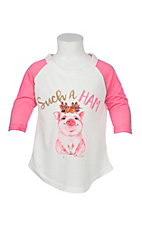 Southern Grace Girls Such a Ham T Shirt