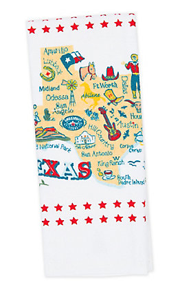 Kathryn Designs Texas Towel