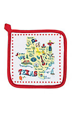 Kathryn Designs Texas Potholder