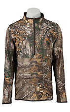 Cinch Men's Realtree Xtra Camo 1/4 Zip Tech Pullover