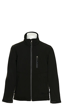 Rafter C Boy's Black Bonded Jacket