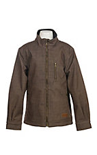 Rafter C Boys Heather Brown Bonded Jacket