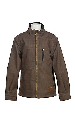 Rafter C Boys' Heather Brown Bonded Jacket