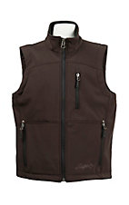 Rafter C Boy's Brown Bonded Vest