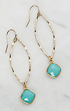 Kori Green Nonya Turquoise Jade Earrings