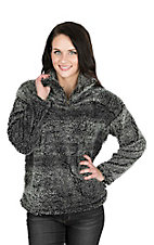 Fantastic Fawn Women's Charcoal Fleece Pull Over