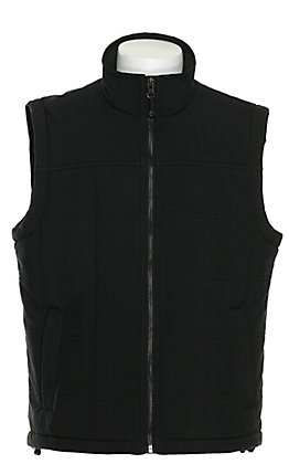 Rafter C Boy's Black Soft Shell Puffer Vest