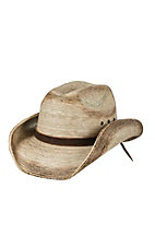 Cavender Toasted Palm Leaf Childrens Cowboy Hat