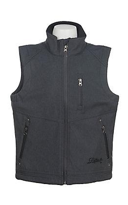 Rafter C Boys' Grey Bonded Vest