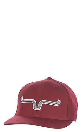 Kimes Ranch Maroon Logo Daily Cap