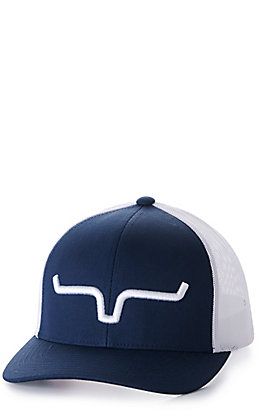 Kimes Ranch Weekly Trucker Navy & White Cap